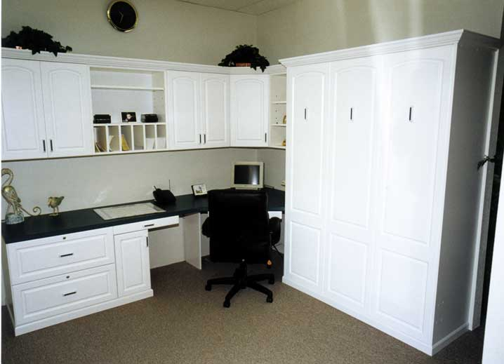Wallbed w/ Home Office
